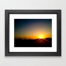 That Kind Of Night Framed Art Print