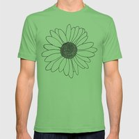 Daisy Mens Fitted Tee Grass SMALL