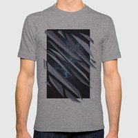 BETWEEN Mens Fitted Tee Athletic Grey SMALL