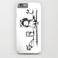owls iPhone & iPod Cases featuring Owls by Freeminds