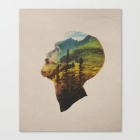 Out Of Mind Canvas Print