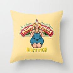 Poovey Farms Throw Pillow