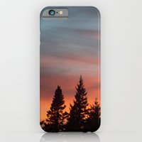 Watercolor Sunset iPhone 6 Slim Case