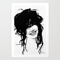 Messy Art Print