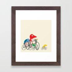 Bike is Life Framed Art Print