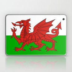 wales country flag united kingdom  Laptop & iPad Skin