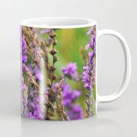 Pink Summer Meadow Mug