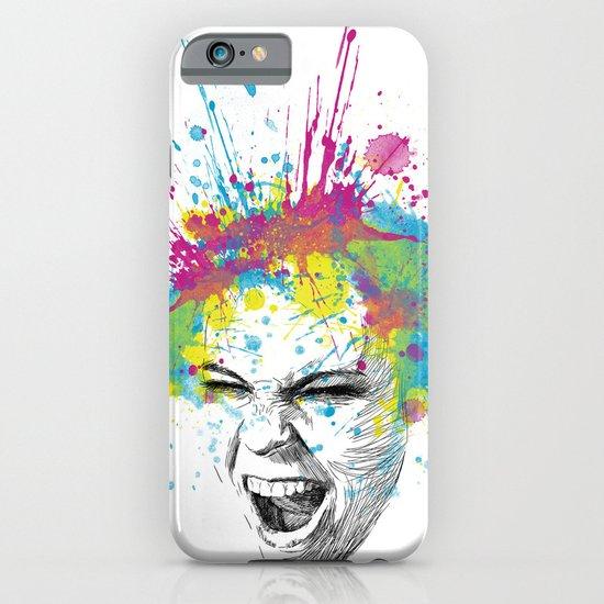 Colorful Scream iPhone & iPod Case