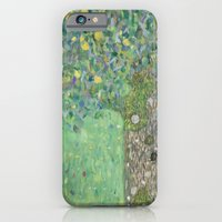 Gustav Klimt - Rosebushe… iPhone 6 Slim Case