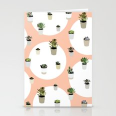 Succulents Repeat Patter… Stationery Cards