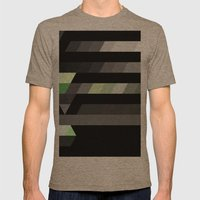 Path Mens Fitted Tee Tri-Coffee SMALL