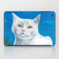 Bianca Cat Portrait iPad Case
