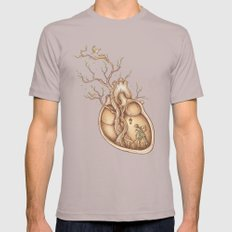 Tree of Life Mens Fitted Tee Cinder SMALL