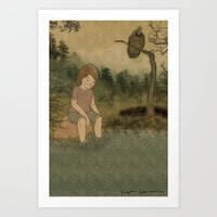 The Swamp Art Print