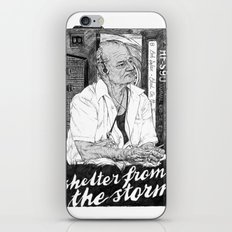 Shelter from the storm iPhone & iPod Skin