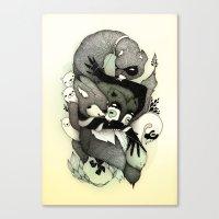 Nightmare Canvas Print