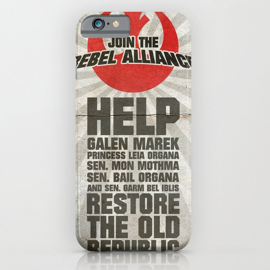 Join the Rebel Alliance iPhone & iPod Case