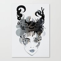 Horn Canvas Print