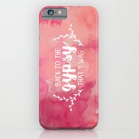 Back To The Gypsy That I… iPhone 6 Slim Case