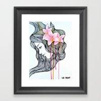 Unconscious Conversation… Framed Art Print