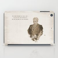 The One Less Traveled By iPad Case