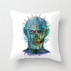 Zombie Raiser Throw Pillow