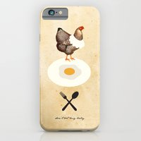 Don't Eat My Baby. iPhone 6 Slim Case