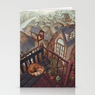 Treehouses Stationery Cards