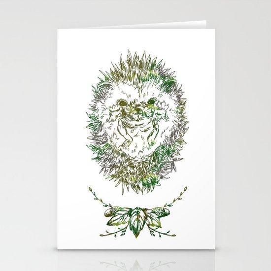 Little Hadgehog Stationery Card