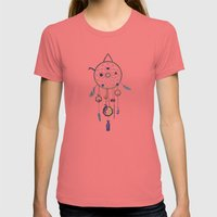 The Dream Catcher Womens Fitted Tee Pomegranate SMALL