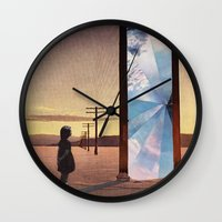 The Broken Window Wall Clock