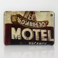 Vintage El Sombrero Motel Sign iPad Case