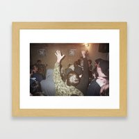 Within Close Space Framed Art Print