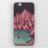 Swimming in your mind iPhone & iPod Skin