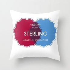 Designer Shirt Throw Pillow