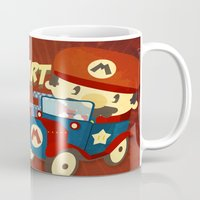 mario kart vintage Mug