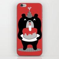 Cake Bear iPhone & iPod Skin