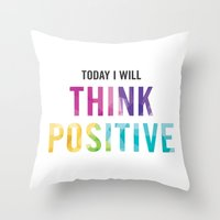 New Year's Resolution Re… Throw Pillow