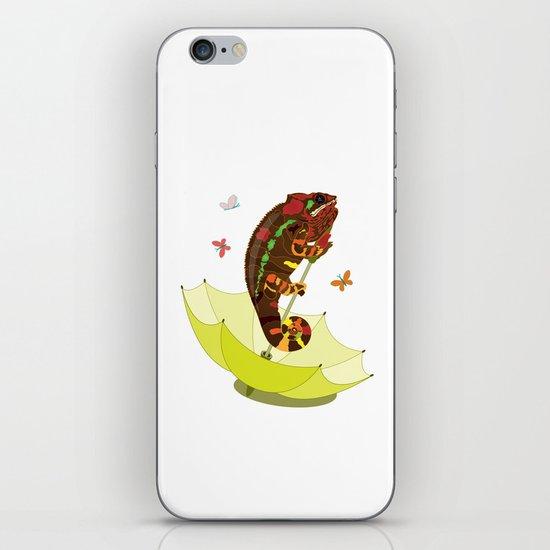 A Big Chameleon  iPhone & iPod Skin