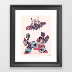 The Dog Brothers Framed Art Print