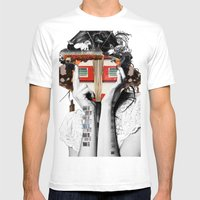 Crazy Woman - Lisa Lara … Mens Fitted Tee White SMALL