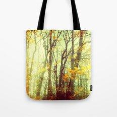 Woodland Abstract Tote Bag