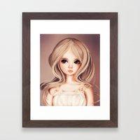 Doll-like Framed Art Print