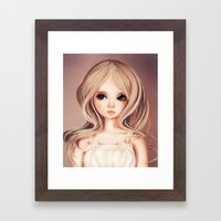 Doll-like Framed Art Print