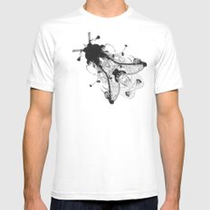 Fly  SMALL Mens Fitted Tee White