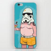 Trooper Blue iPhone & iPod Skin