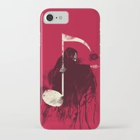 death iPhone & iPod Cases featuring Death Note by Tobe Fonseca
