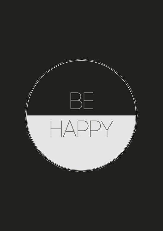 BE HAPPY 2 Art Print