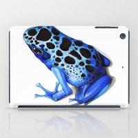 Blue Poison Frog iPad Case