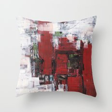 Abstract 2014/11/08 Throw Pillow